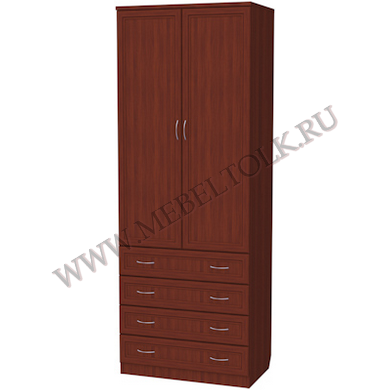 шкаф для белья со штангой и ящиками шкафы для одежды и белья