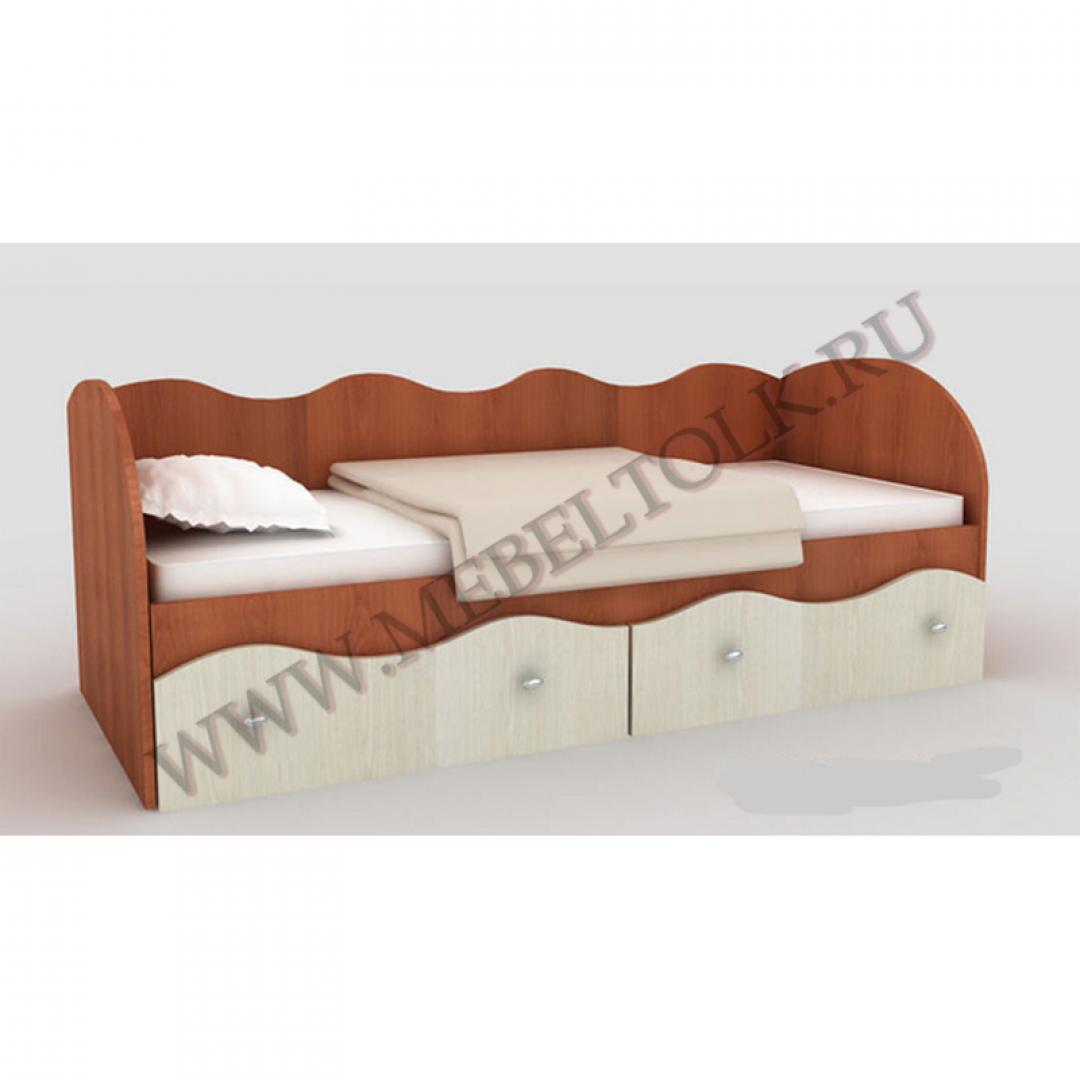 кровать с ящиками «пифагор» лдсп «пифагор»