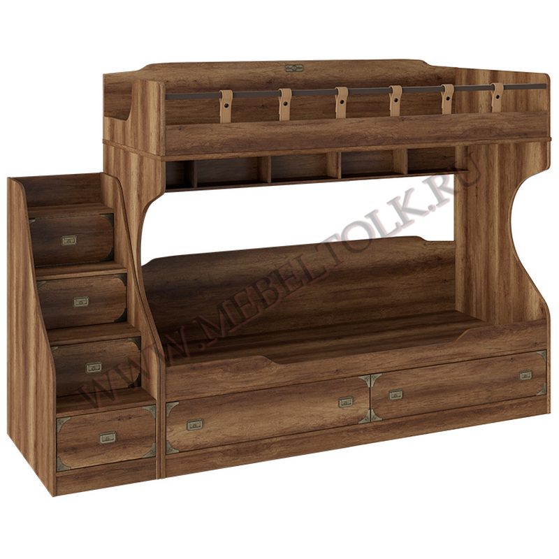 кровать двухъярусная «навигатор» кровати 2-х ярусные