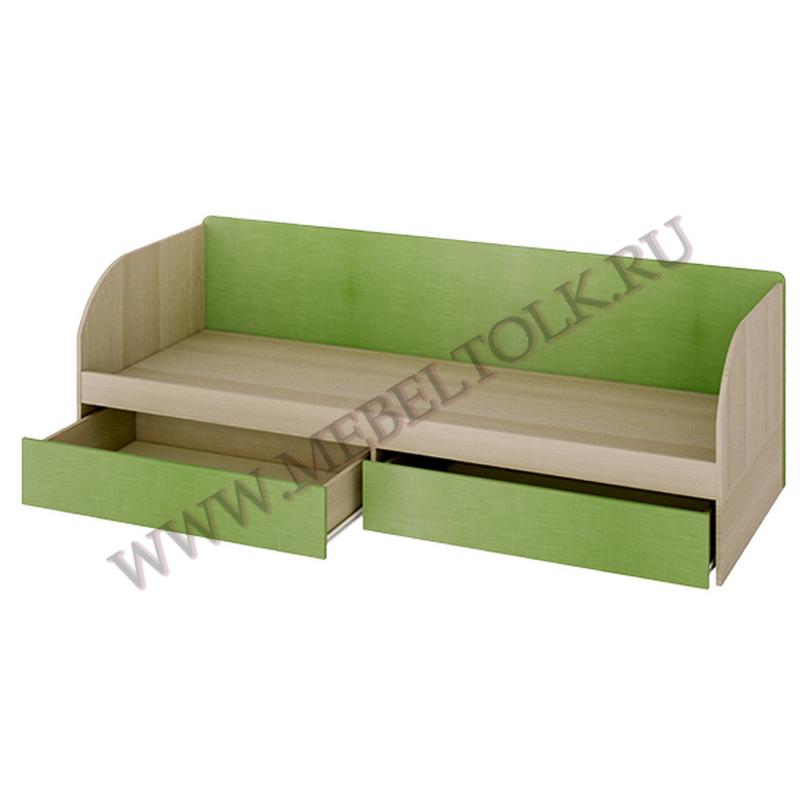 кровать с 2-мя ящиками «киви» «киви»