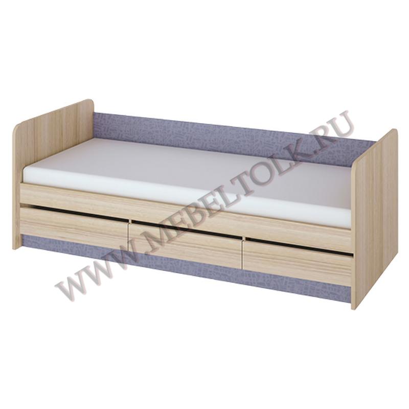 кровать с 3-мя ящиками «индиго» «индиго»
