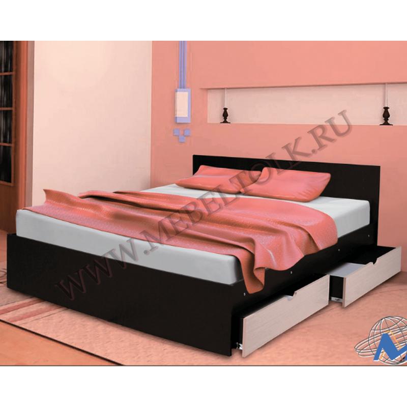 кровать с ящиками кровати