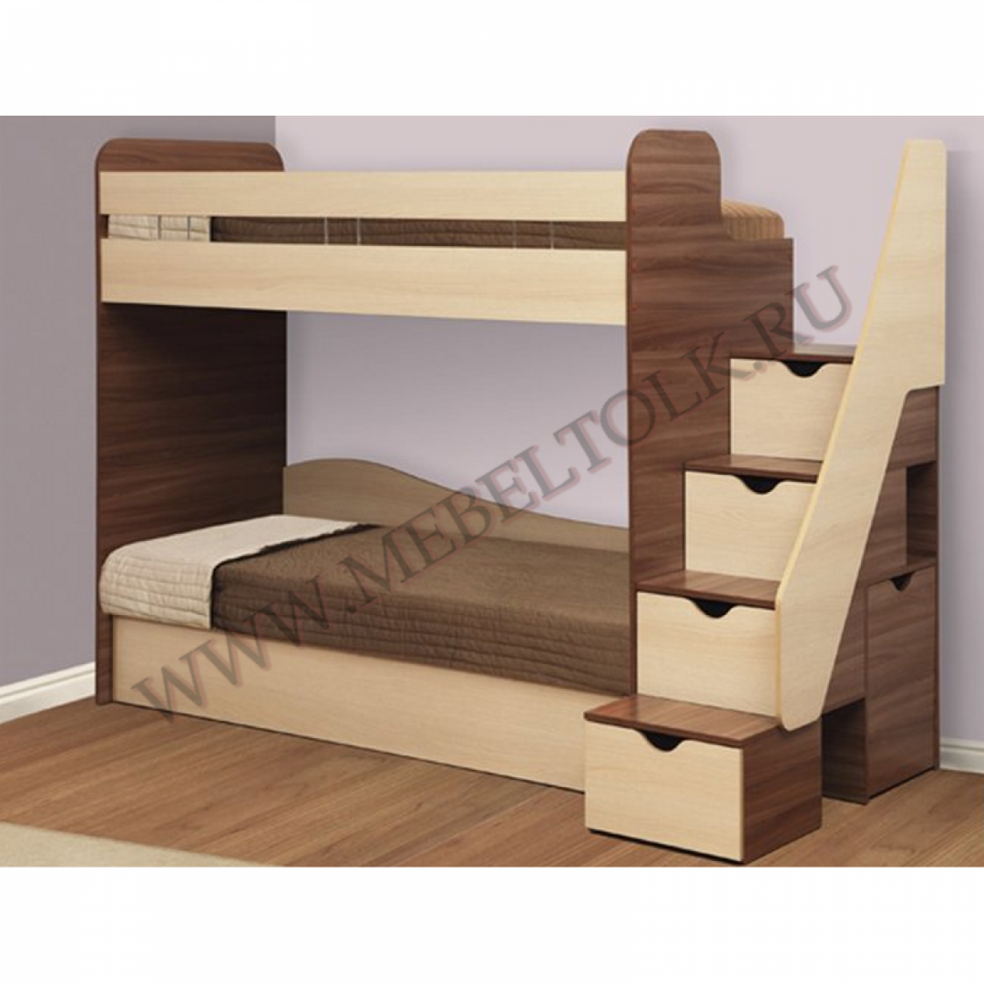 кровать 2-х ярусная «адель-3» кровати 2-х ярусные