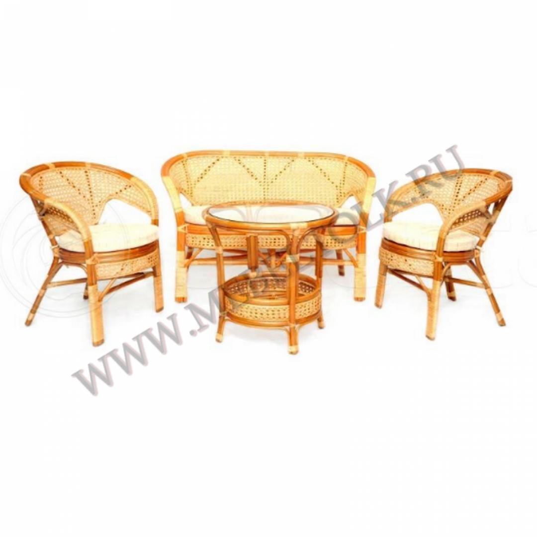 комплект «пеланги» мебель из ротанга