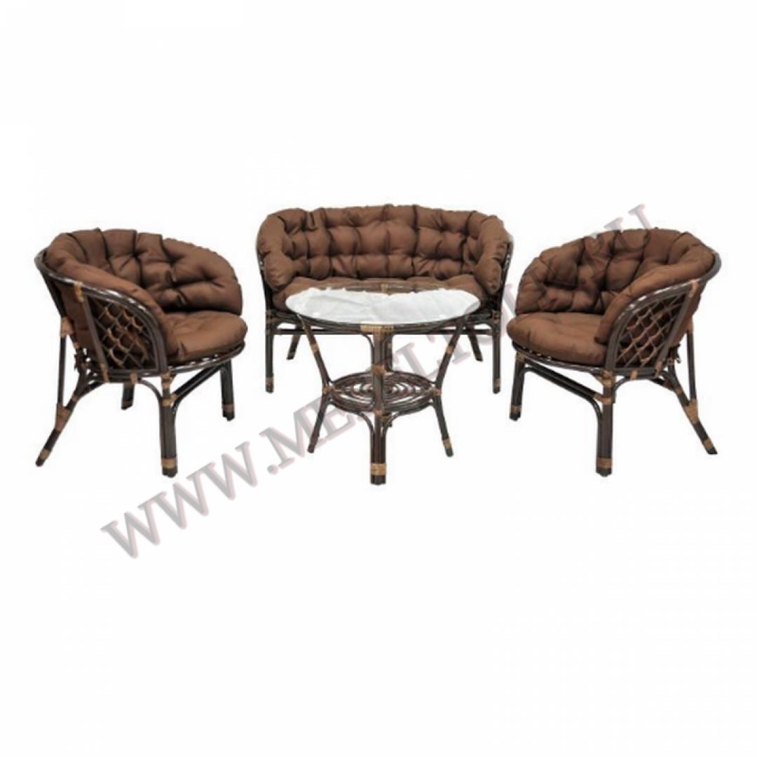 комплект «багама s» мебель из ротанга