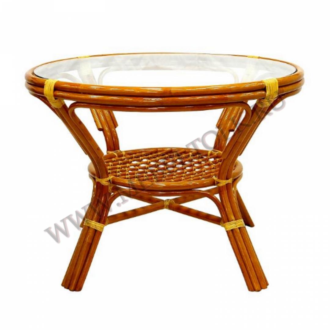 стол обеденный мебель из ротанга