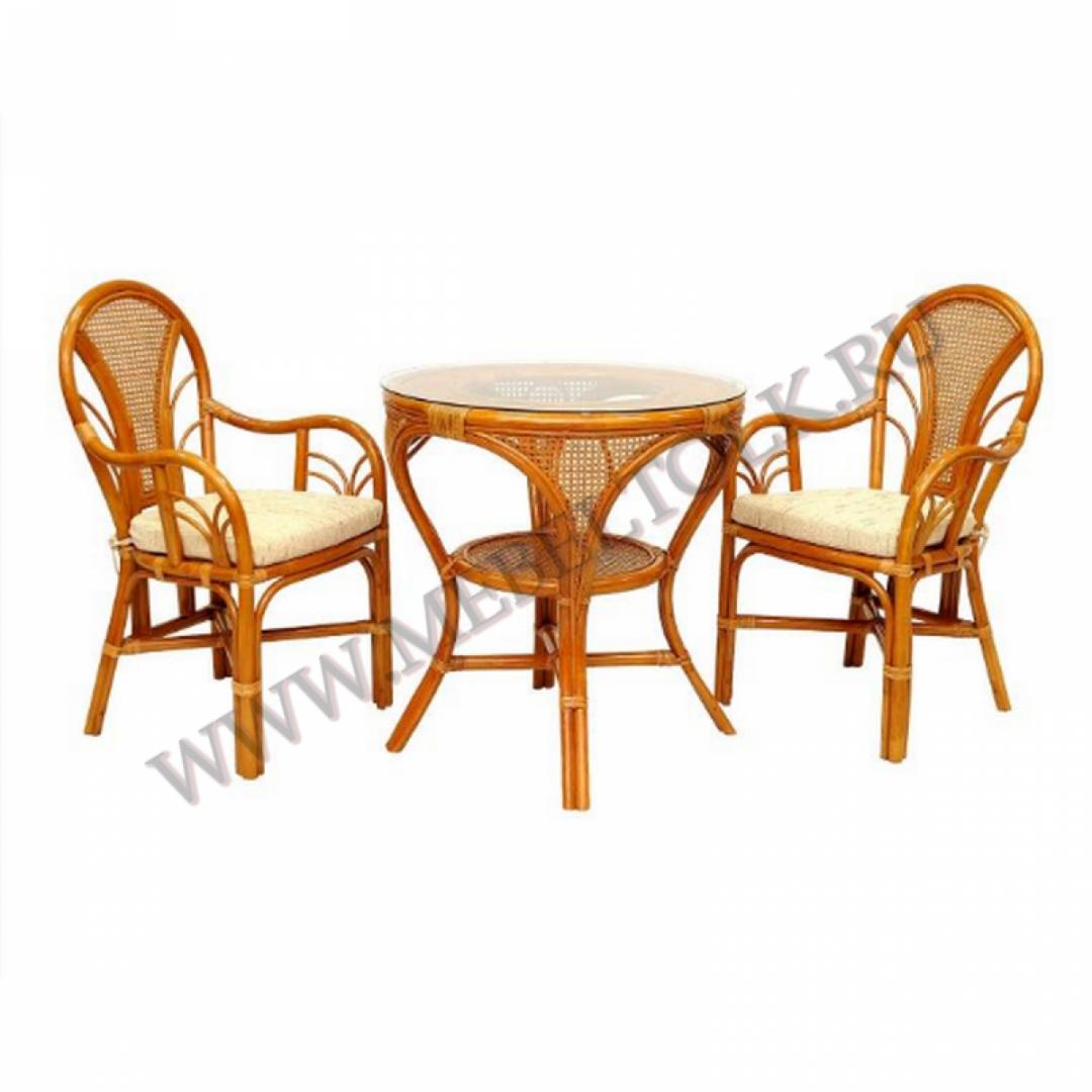 комплект «lamokko l» мебель из ротанга
