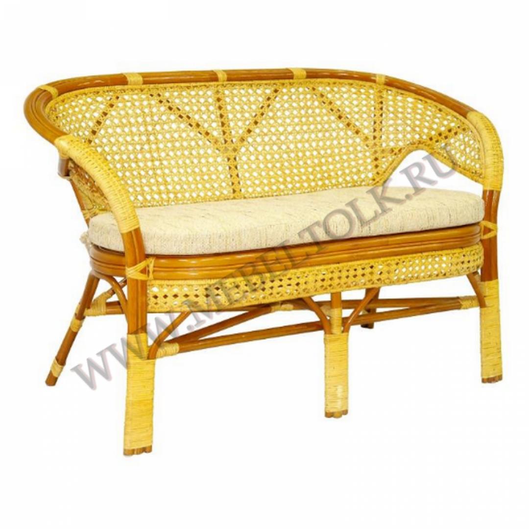 диван «пеланги» мебель из ротанга