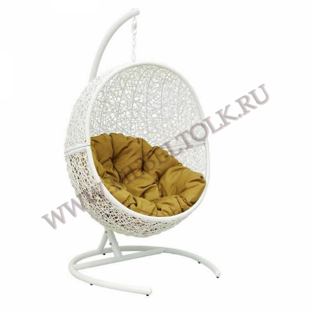 кресло подвесное «lunar white» подвесные кресла