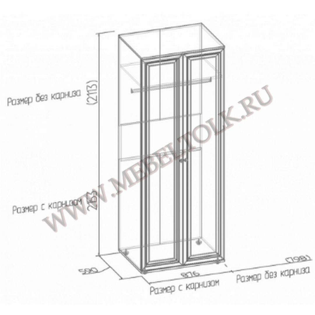 шкаф для одежды 3 «montpellier» «montpellier»