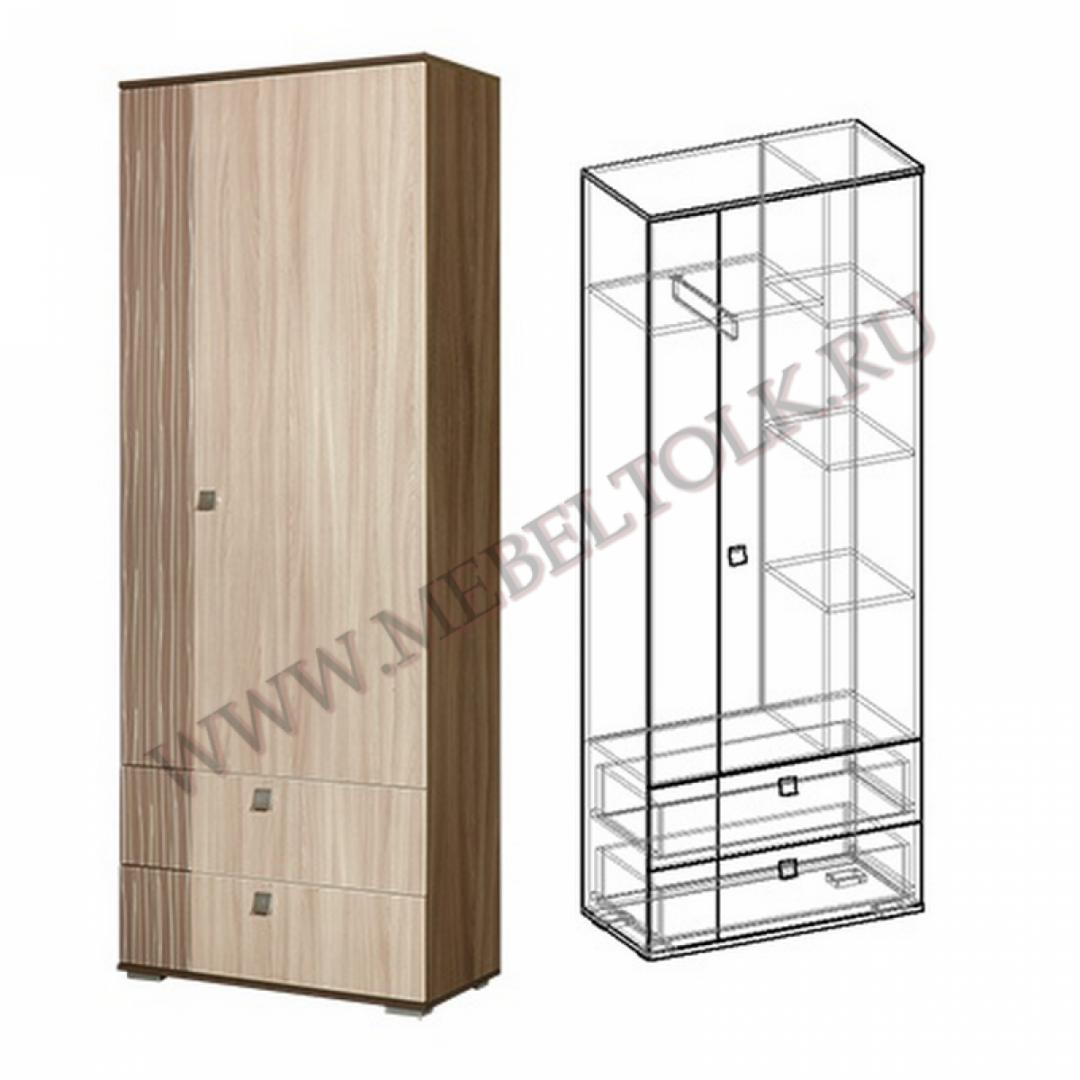 шкаф 2-х створчатый «богемия» «богемия»