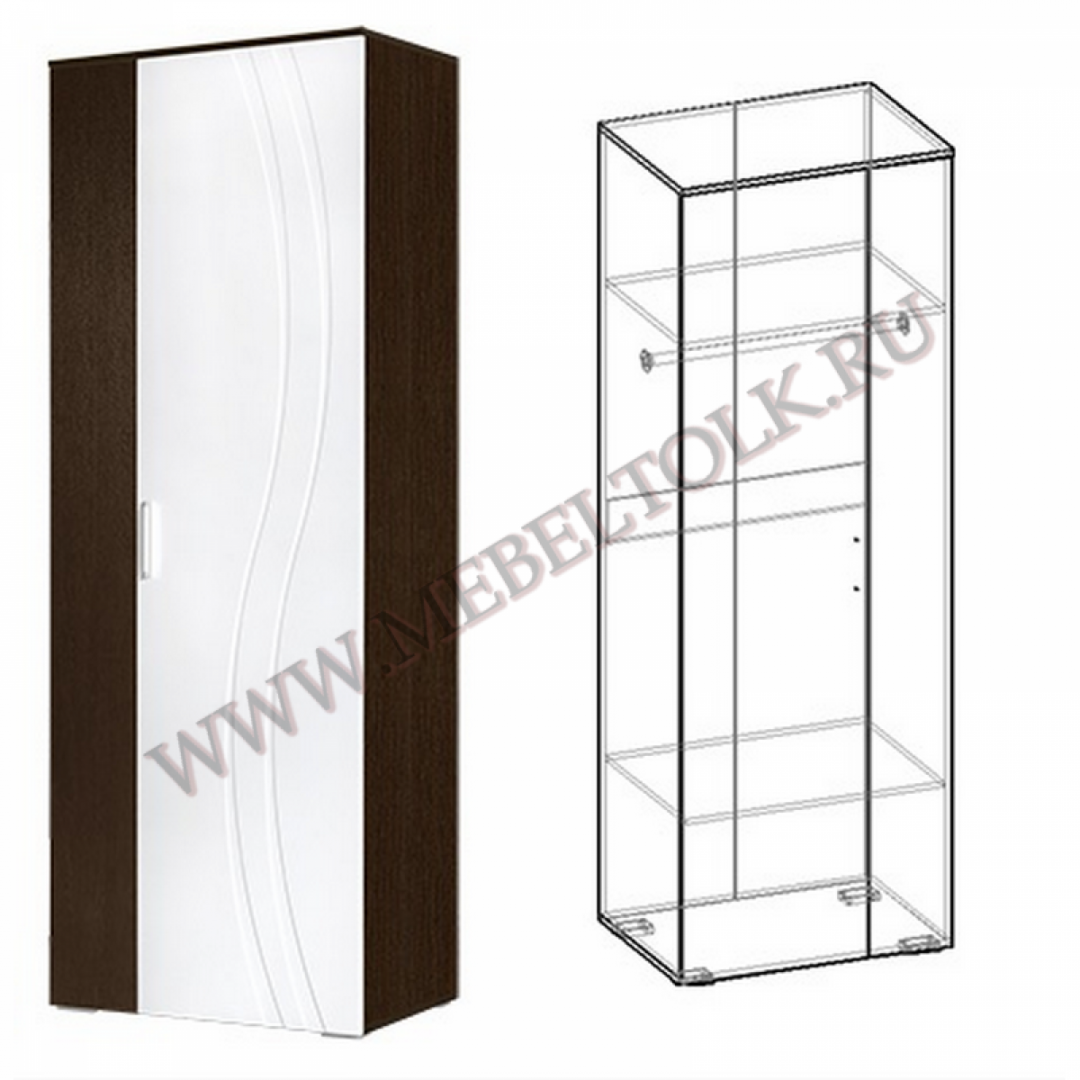 шкаф платяной «адриана» шкафы для одежды и белья