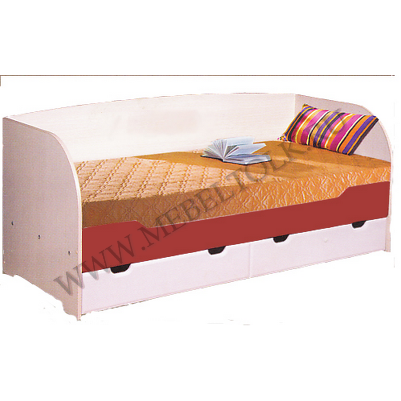 кровать с ящиками «архимед» мдф «архимед»