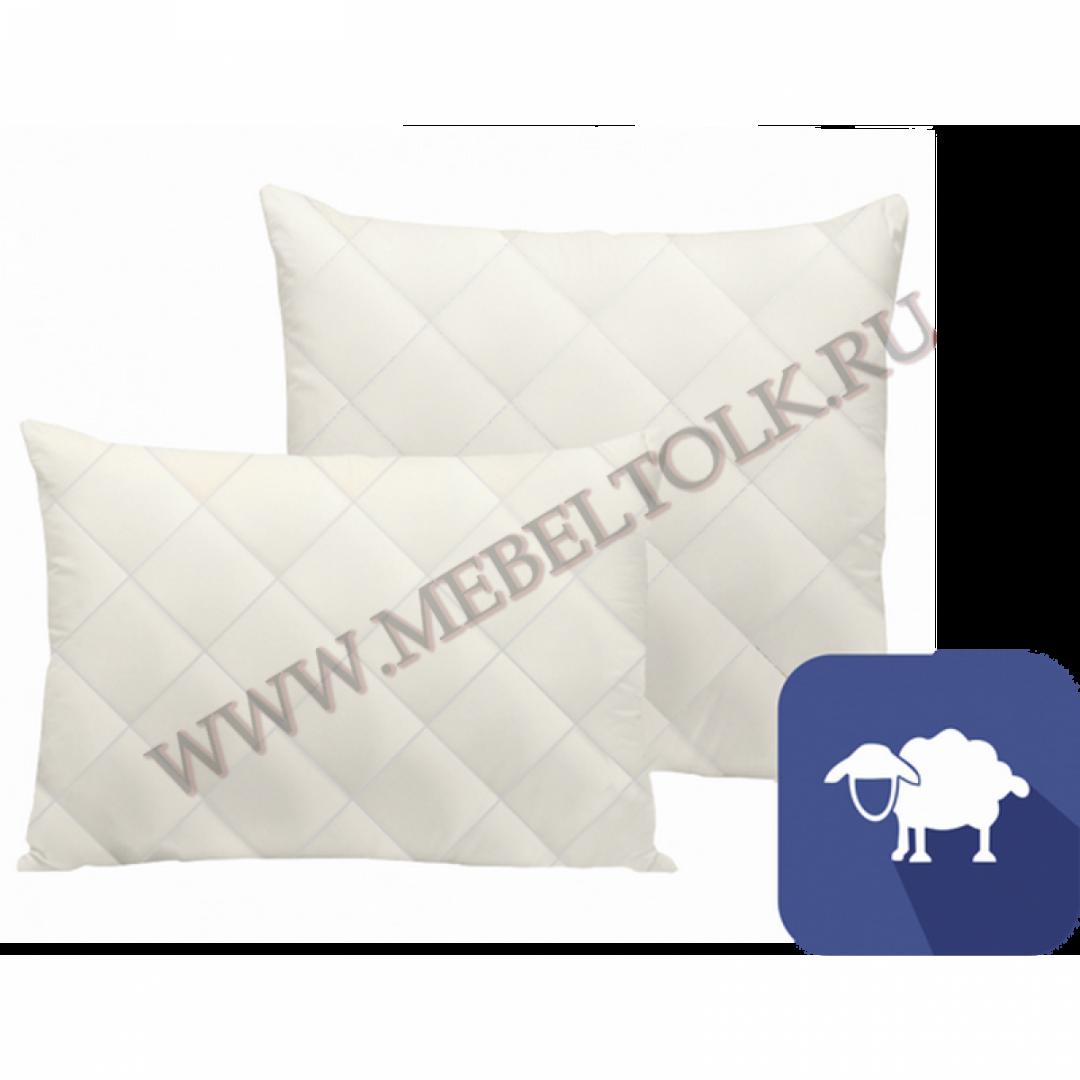 подушка «овечья шерсть» 70*70 см подушки