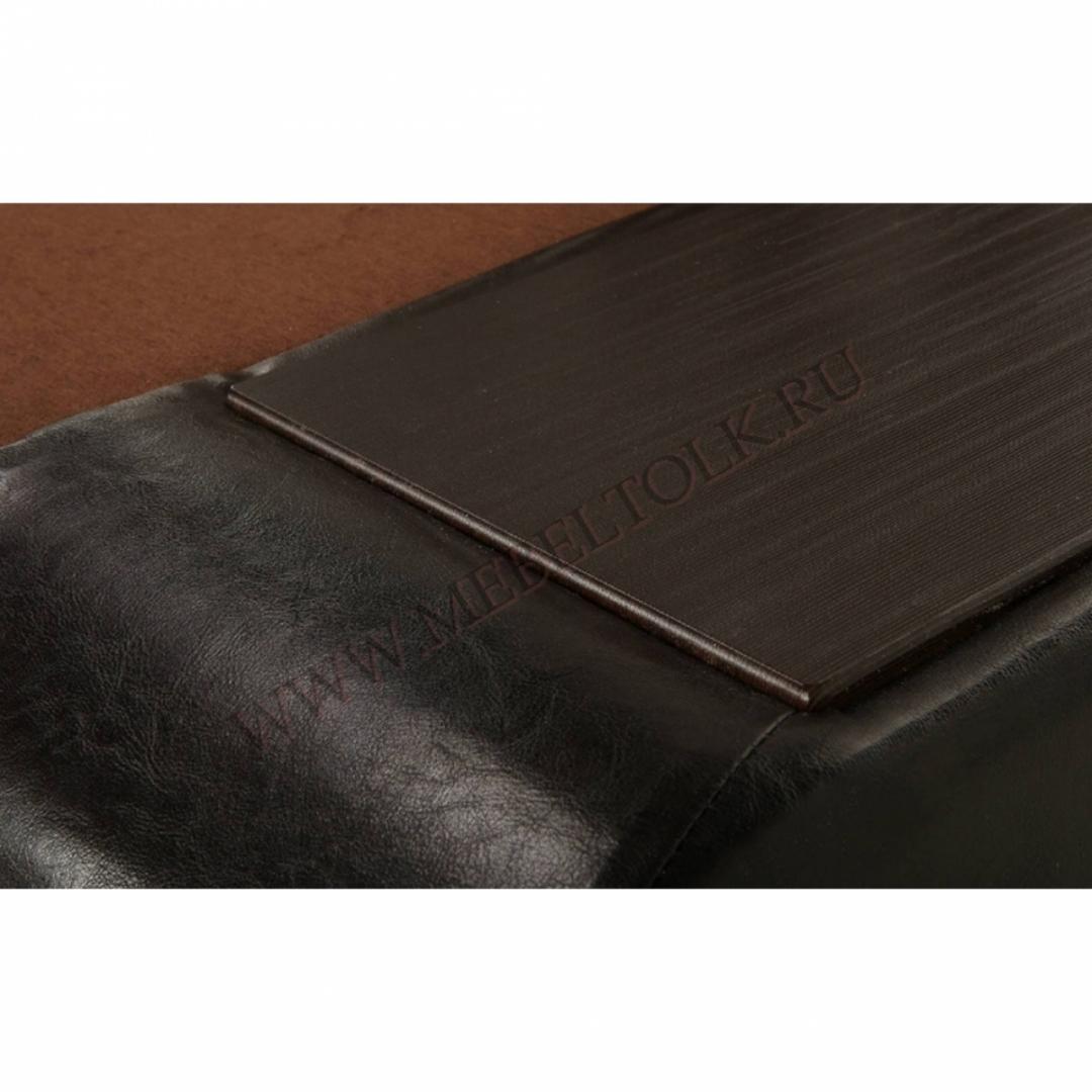 """Угловой диван """"Бруно правый"""" коричневый"""