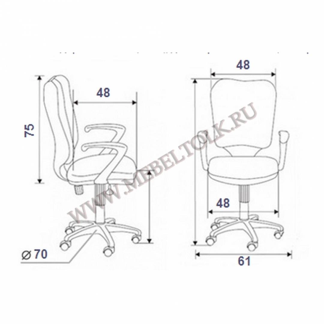 "Кресло ""Орион"" 1X, чёрное"