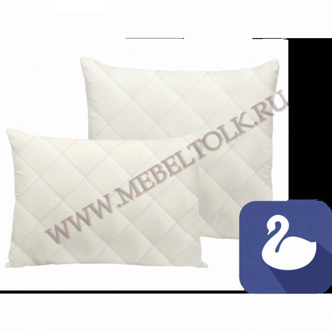 подушка «лебяжий пух» 70*70 см подушки