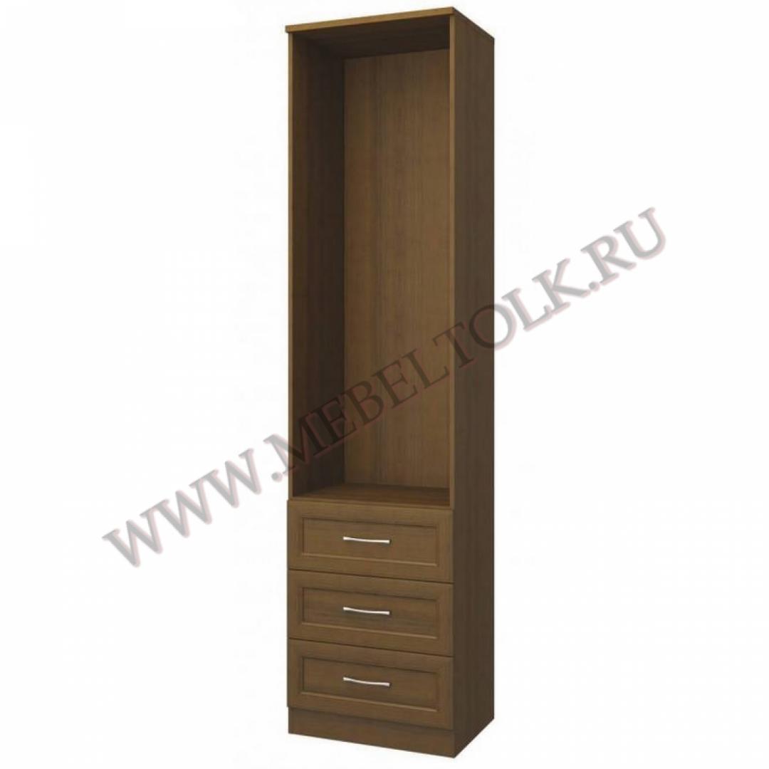 шкаф 2-х дверный с ящиками «софия» «софия» noce pegasso
