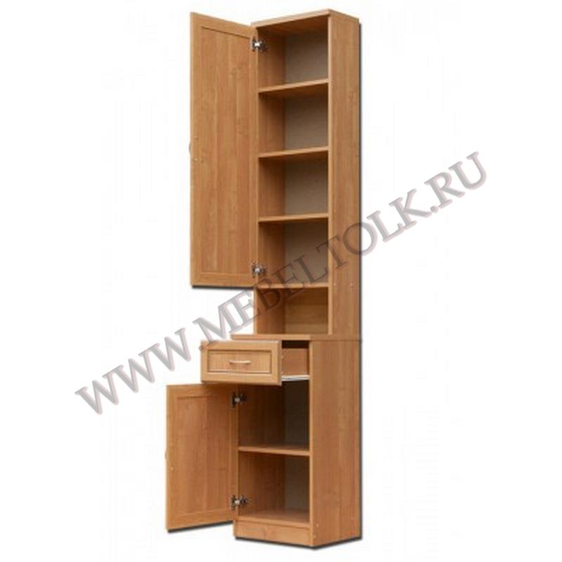 шкаф для прихожей с полками и ящиком «гарун»