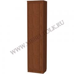 Шкаф для белья с полками и выдвижной вешалкой