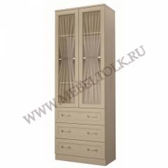 """Шкаф 2-х дверный с ящиками """"Дженни"""""""