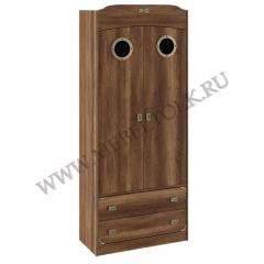 """Шкаф для одежды с иллюминатором""""Навигатор"""""""