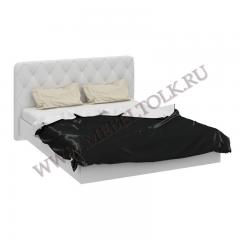 """Кровать с мягкой спинкой """"Амели"""""""