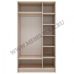 шкаф 3-х дверный с зеркалом «оливия» шкафы для одежды и белья