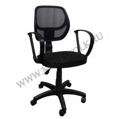 """Кресло """"Сатурн"""" П, В14, чёрная сетка"""