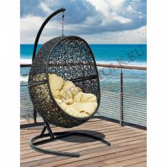 кресло подвесное «lunar black» подвесные кресла