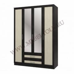 "Шкаф 4-х дверный с зеркалом ""Юлианна"""