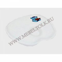 ТОП-109 Подушка ортопед. под голову для детей до 1,5 лет