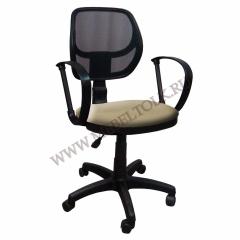 """Кресло """"Сатурн"""" П, В39, чёрная сетка"""