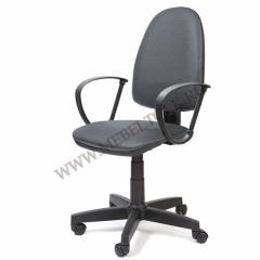"""Кресло """"Престиж"""" П, к/з серый"""