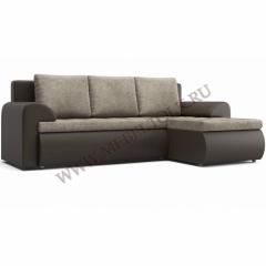 """Угловой диван """" Цезарь"""" коричневый"""