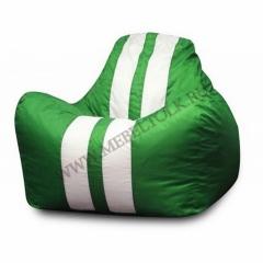 Кресло-мешок «Феррари» зелёный