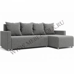 """Угловой диван """"Челси"""" серый"""