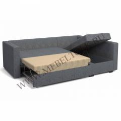 """Угловой диван """"Джессика 2"""" (правый) серый"""