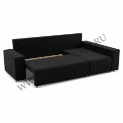 """Угловой диван """"Марко"""" черный"""