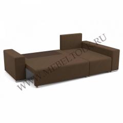"""Угловой диван """"Марко"""" шоколадный"""