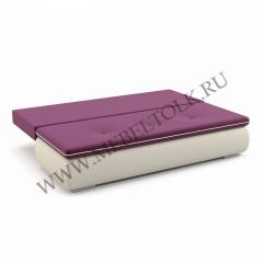 "Диван ""Палмерстон"" пурпурно-белый"