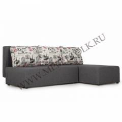 """Угловой диван """"Комо"""" серый"""