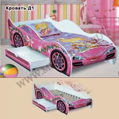 """Кровать """"Машинка для девочек"""""""
